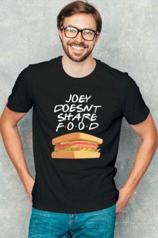 Joey doesnt share food friends reunion tshirt india meramerch