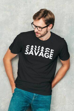 Savage Minimalist Tshirt Cool tshirts on meramerch india