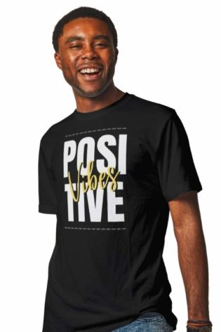 mens-tshirts-online-india-positive-vibes-black-tshirt-mera-merch